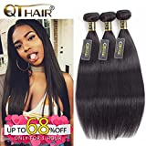 QTHAIR 10A Unprocessed Indian Virgin Hair Straight 3 Review and Comparison