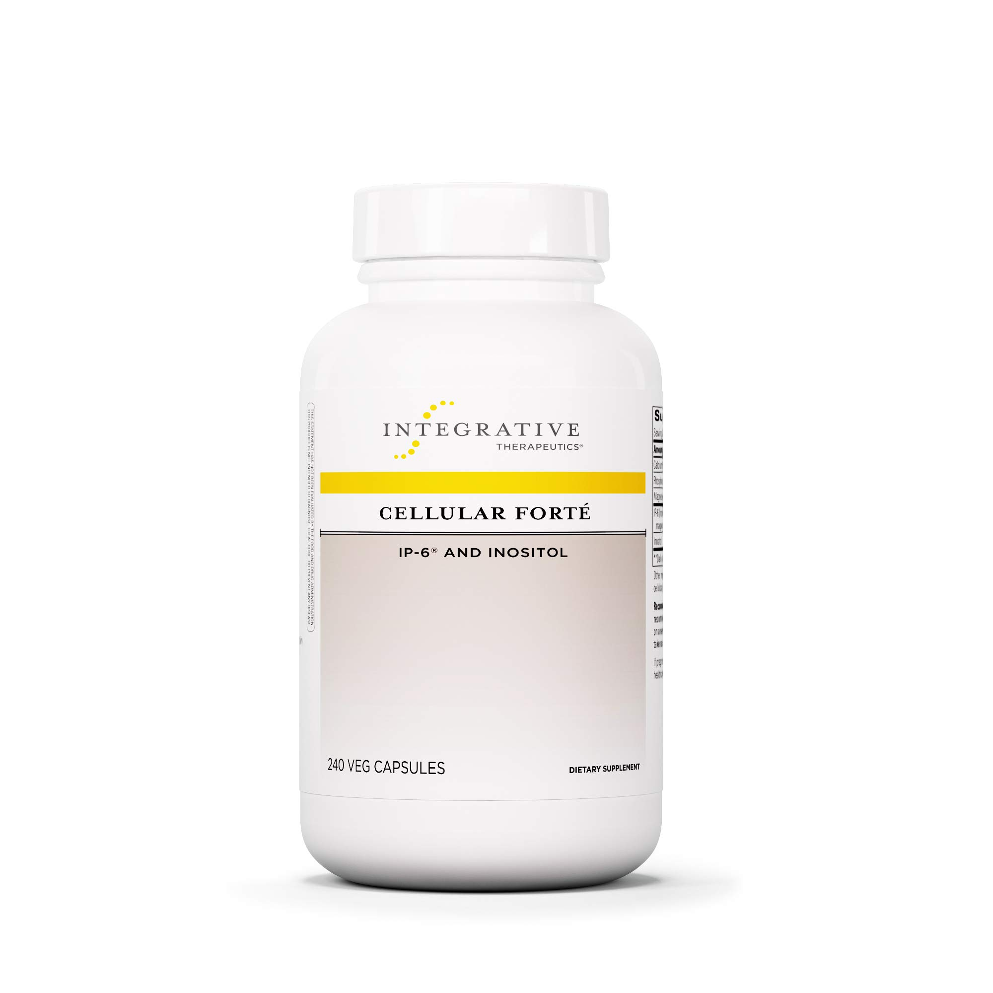Integrative Therapeutics - Cellular Forte with IP-6 and Inosotol - Immune Support Supplement - 240 Capsules