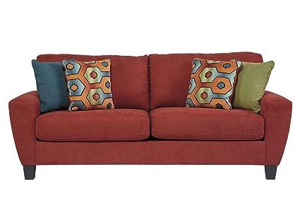 Amazon.com: Ashley Furniture Signature Design - Sagen Sleeper Sofa ...