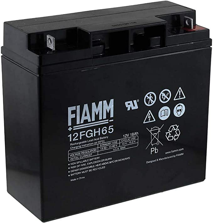 12V FIAMM replacement battery for USV APC Back-UPS BK350-RS Lead-Acid