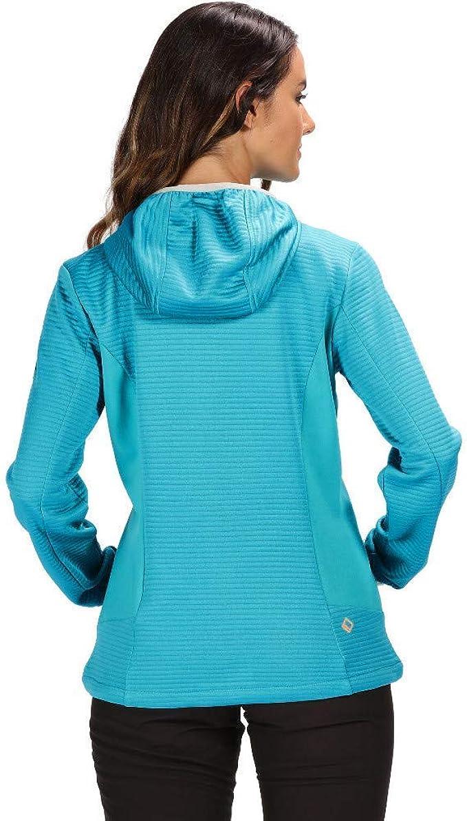 Regatta Professional Womens Dreamstate Full Zip Quick Drying Mini Honeycomb Fleece Forro polar Mujer