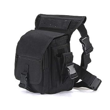 Amazon.com: Military Tactical Drop pierna Bolsa impermeable ...