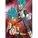 100-piece jigsaw puzzle Dragon Ball super Goku & Vegeta - Super Saiyan God SS] Large piece (18.2x25.7cm)