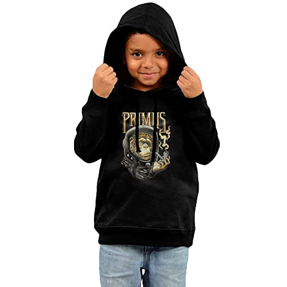 MeMT Camiseta De - Primus - Astro Monkey Kids Hooded Sweatshirt Black