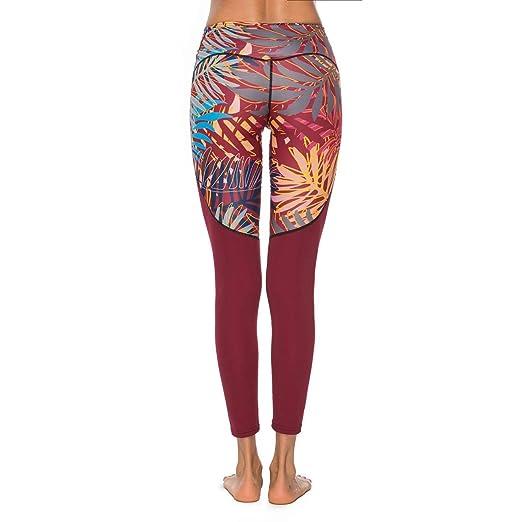 LiXiZhong Pantalones De Yoga para Mujeres Ejecución De ...