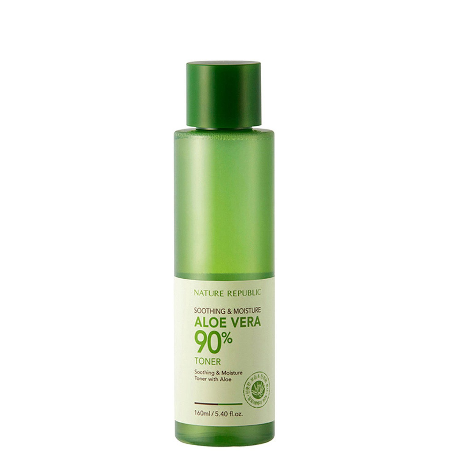 Buy Nature Republic Soothing Moisture Aloe Vera 90 Toner 160ml Jar Gel 300 Ml 53oz Online At Low Prices In India