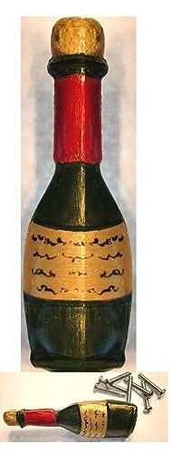 Amazon.com: Wine Bottle Cabinet Drawer Knobs Pulls Cocktail Theme ...