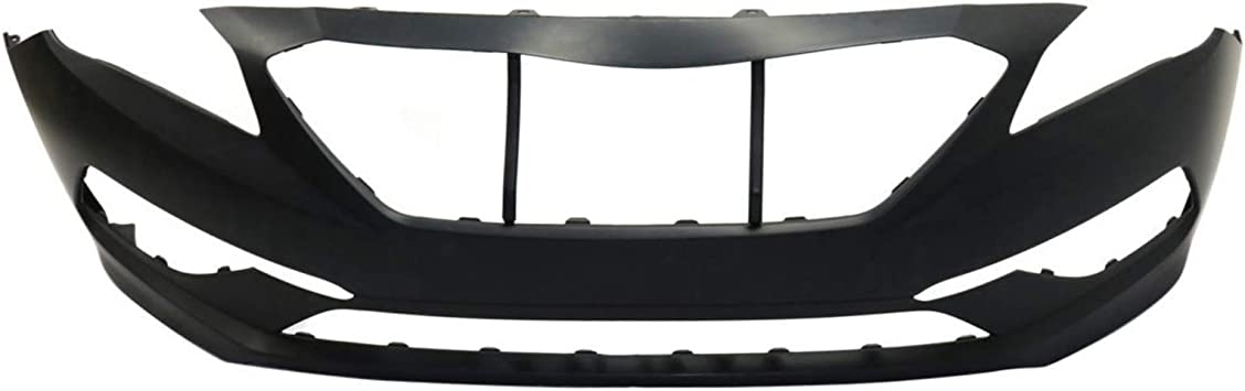 Front Bumper Cover for HYUNDAI SONATA 2015-2017 Primed Standard Type