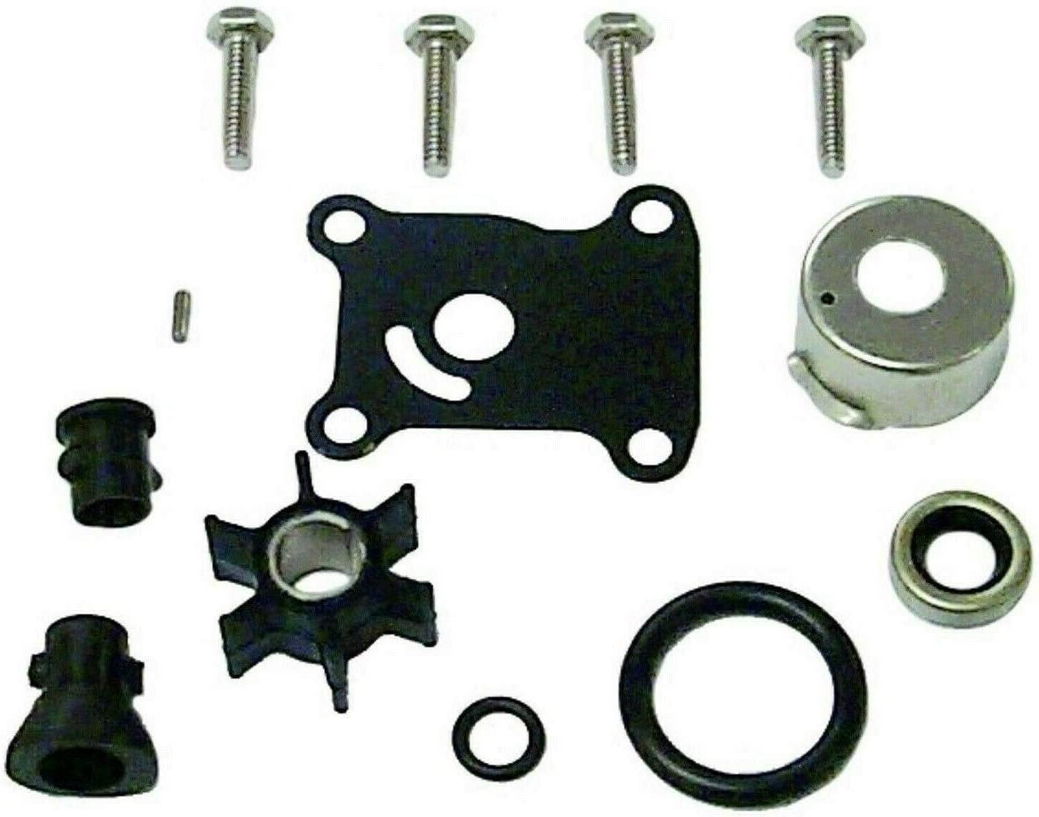 emp Water Pump Kit Without Housing for Johnson Evinrude 9.9, 15 Hp 2 Stroke (1974-1996) & 9.9, 15 Hp 4 Stroke (1995-2001) Replaces 18-3400 391698 Read Product Description for Applications