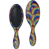Wet Brush Original Detangler with Ultra-Soft Bristles for Women, Men and Kids, Gentle Detangle for Wet or Dry Hair-, Rainbow