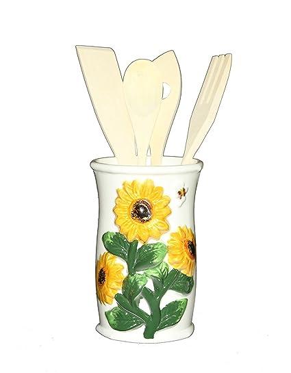 3 d sunflower kitchen tools wutensils 83038 by ack - Sunflower Kitchen