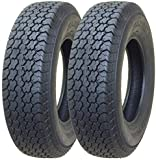 2 New Trailer Tires ST 225/75D15 - 11058