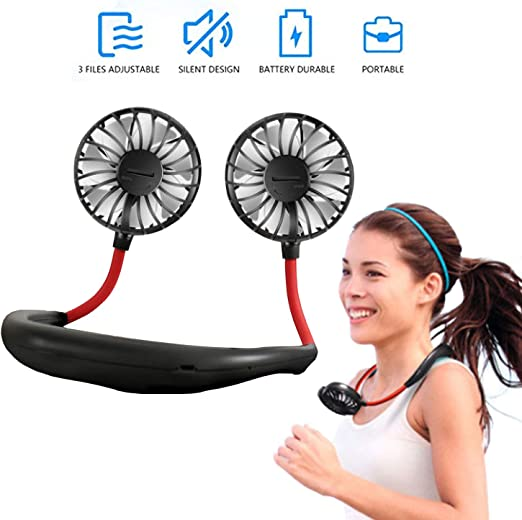 Ventiladores personales Mini ventilador de manos libres USB ...