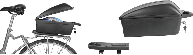 05120100 Polisport Gep/äcktr/ägerbox Top Case schwarz