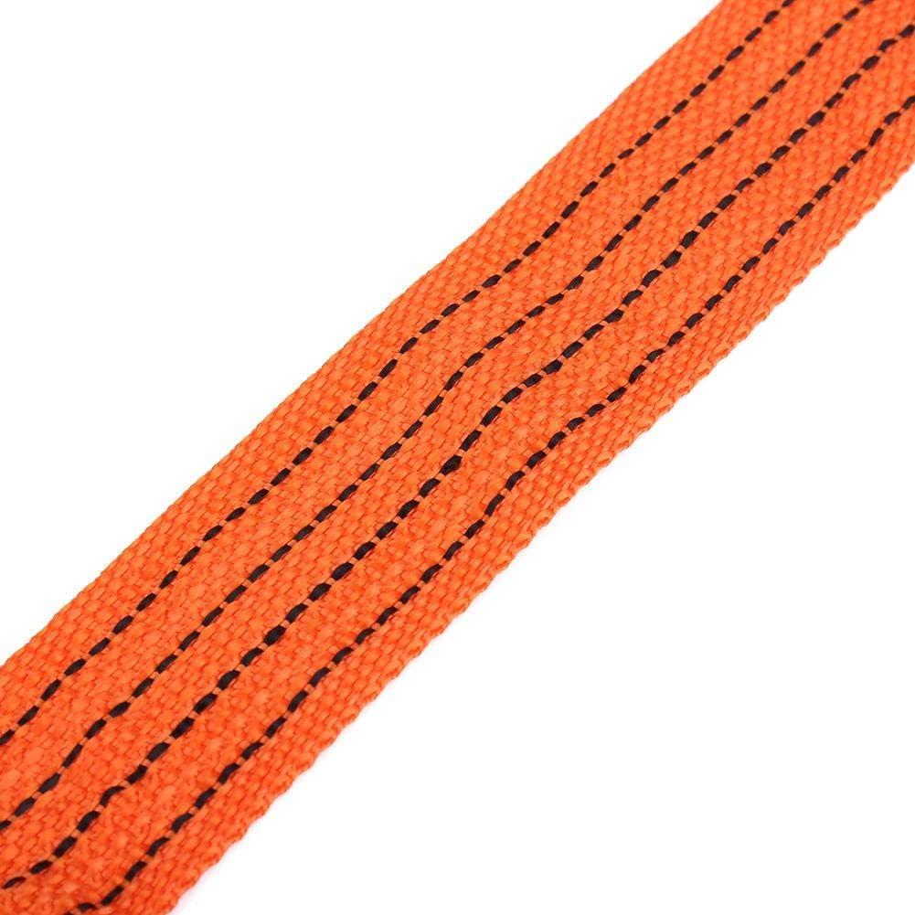 Fer Forg/é C/âble de Remorquage avec Crochets pour Voiture Camion SUV V/éhicule Tout Terrain Hlyjoon Sangle de Remorquage 4m 3 Tonnes Corde de Remorquage de Voiture en Fil de Nylon /à Haute R/ésistance