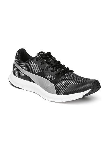 Puma Unisex PUMA Flexracer Silver IDP Puma Black-Puma Silver Sneakers - 8  UK  4d76f2ed29d6