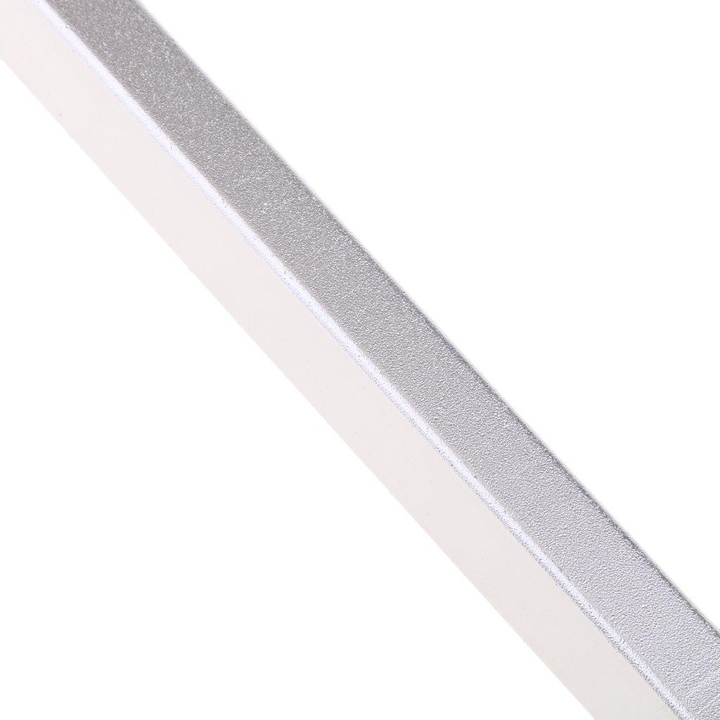 Homyl Prot/ège-guidons Barre Prot/ège-Mains en Aluminium de Moto 2pcs Noir