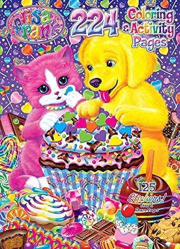 Bendon & Lisa Frank 224 Coloring & Activity Activity Pages [並行輸入品] Pages B077ZLVD9K, ナゴヤシ:3e2377ac --- bulkcollection.top