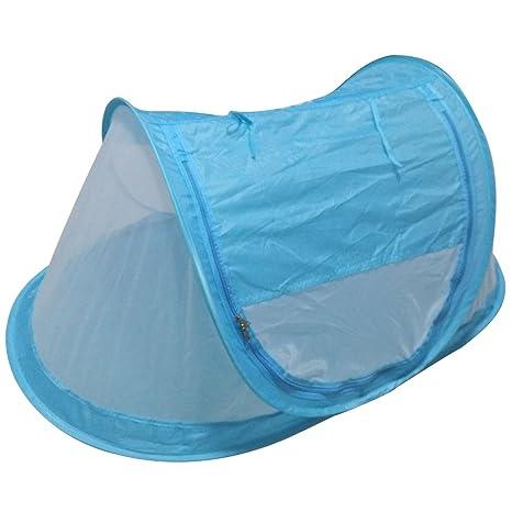 Pinksee bebé infantil cama tienda antipolvo Canopy mosquitera de viaje bebé tienda