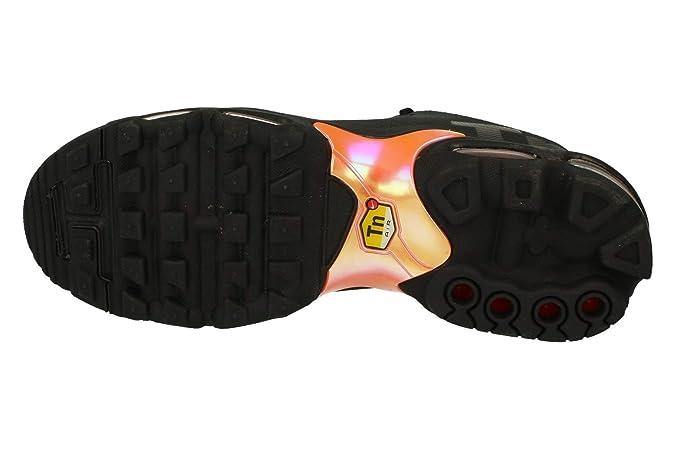 Nike Air MAX Plus TN Se Zapatillas Hombre - Black/Total Naranja-Blanco, 42.5: Amazon.es: Zapatos y complementos
