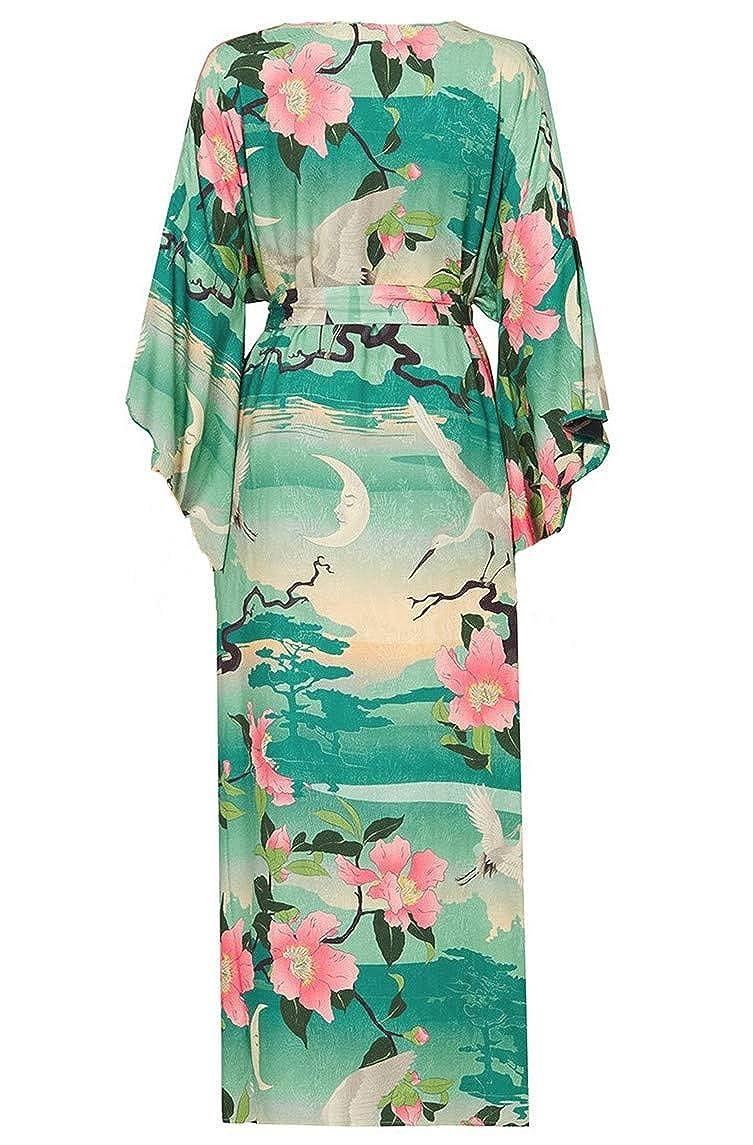 L-Peach Damen Sommer Strickjacke Bikini Cover Up Casual Lose /Überwurf Kaftan Strandkleid Sommerkleid One Size