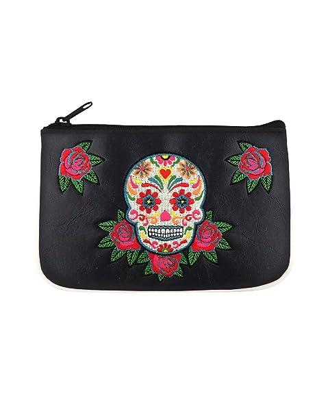Amazon.com: LAVISHY - Bolso de piel sintética con diseño de ...