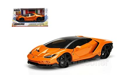 Jada 2017 Lamborghini Centenario Orange 99360wa1 1 24 Scale