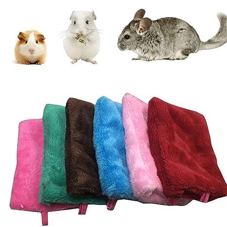 Zolimx Pequeña Mascota Colgando Acogedor Saco de Dormir Abrazo Taza Acurrucarse Bolsa de Dormir (Azul