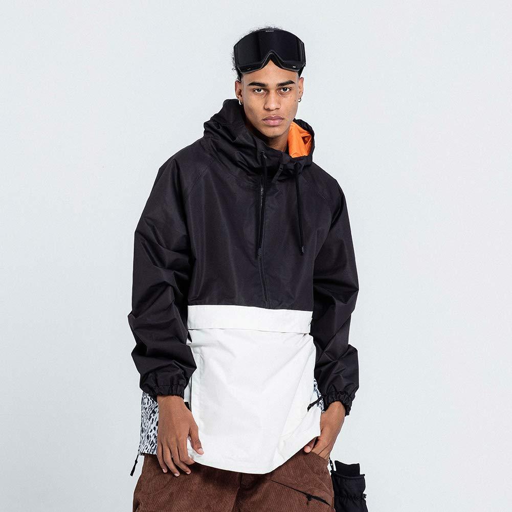 NOBADAY NBD Mens/Womens Lightweight Contrast Color Sport Snowboard Jacket