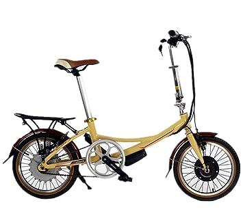 Dixi 16 plegable para bicicleta con motor de 250 W Batería de litio