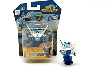 Mini Bj Bong Super Wings Transforming Plane Toy Funny Flux Tv