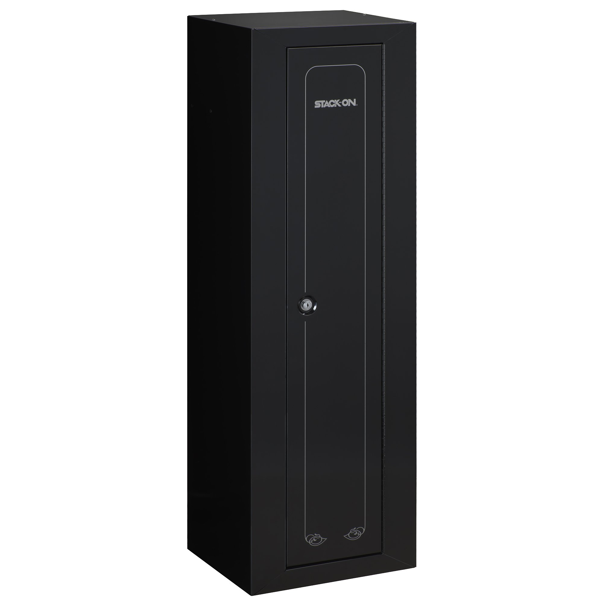 Stack-On GCB-910 Steel 10-Gun Compact Steel Security Cabinet, Black