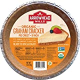 Arrowhead Mills Organic Graham Cracker Pie Crust, 9 Inch, 6 oz. (Pack of 12)