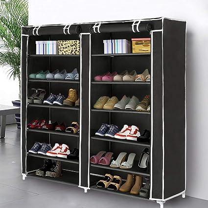 Amazoncom Blissun Shoe Rack Shoe Storage Organizer Cabinet Tower