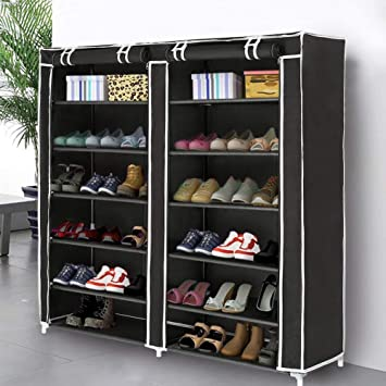 Amazoncom Blissun Shoe Rack Shoe Storage Organizer Cabinet Tower