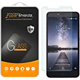[2-Pack] Supershieldz for ZTE ZMax Pro Tempered Glass Screen Protector with Lifetime Replacement Warranty