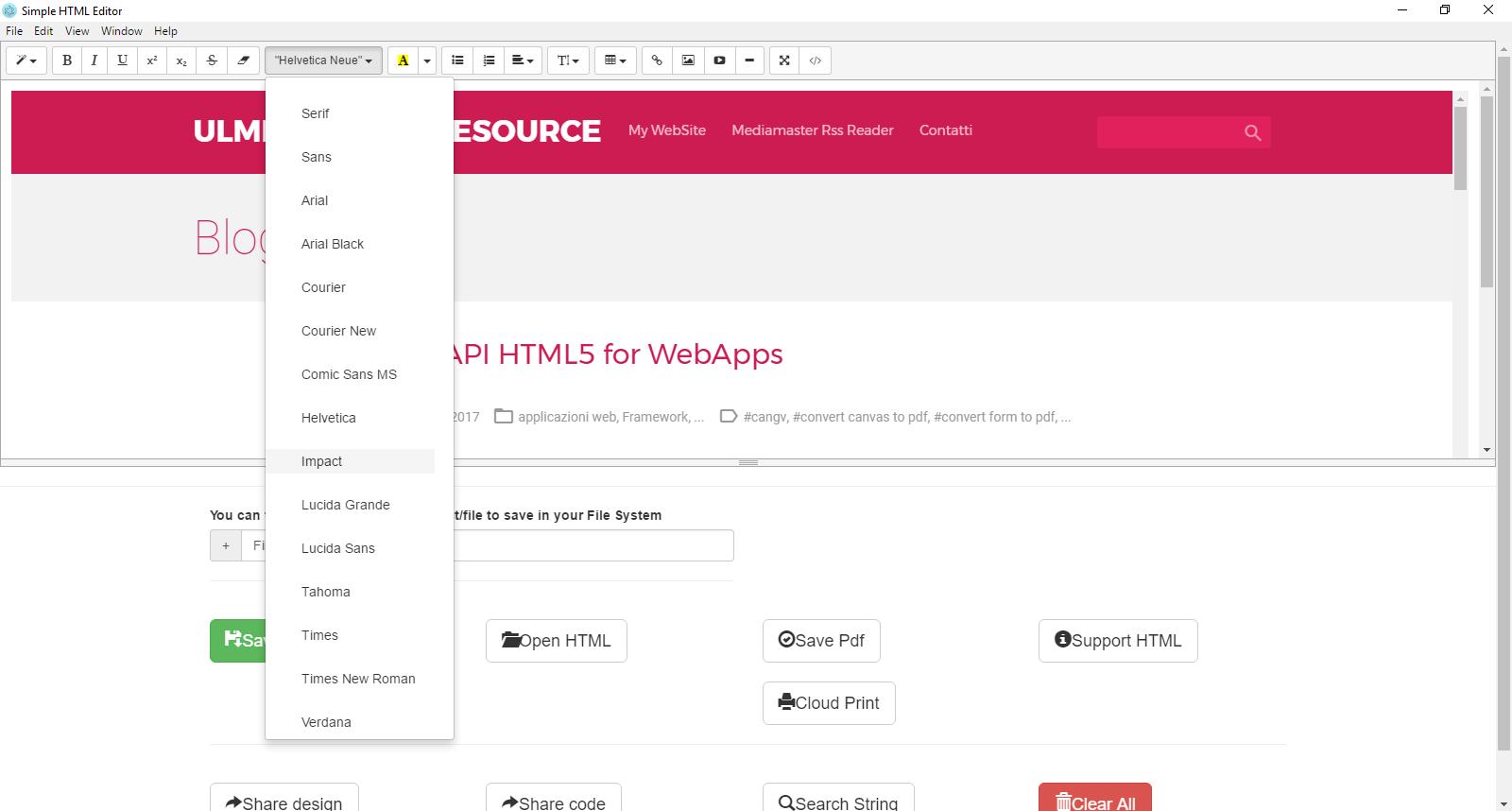 WYSIWYG HTML5 CANVAS EDITOR - GrapesJS