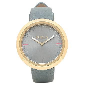 88383a7b2b84 [フルラ] 腕時計 レディース FURLA R4251103501 866666 イエローゴールド/ライトブルー [並行輸入