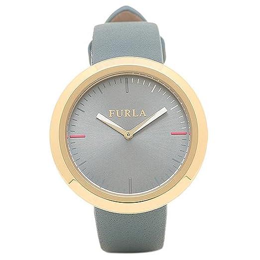 f7d0d49dccfa Amazon | [フルラ] 腕時計 レディース FURLA R4251103501 866666 イエローゴールド/ライトブルー [並行輸入品] |  並行輸入品・逆輸入品・中古品(レディース) ...