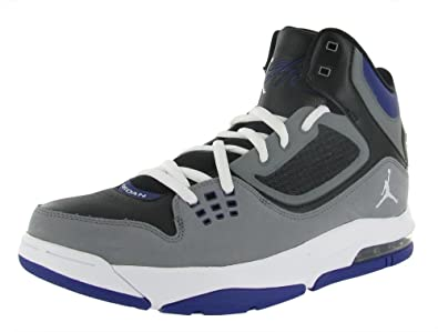 best cheap 1e2d6 7ccbc Amazon.com   NIKE Jordan Flight 23 RST Black Cool Grey Purple Men  Basketball Shoes 512234-017  US size 10.5    Basketball