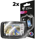 """IPG By Compatible with ANTI - GLARE - GARMIN ZUMO 590-590LM - 595-595LM 5"""" (SC) (2x) Invisible Film Screen Protector Guard Cover Free Lifetime Replacement Warranty Bubble -Free"""