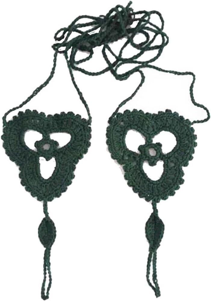 Crochet Barefoot Sandals...
