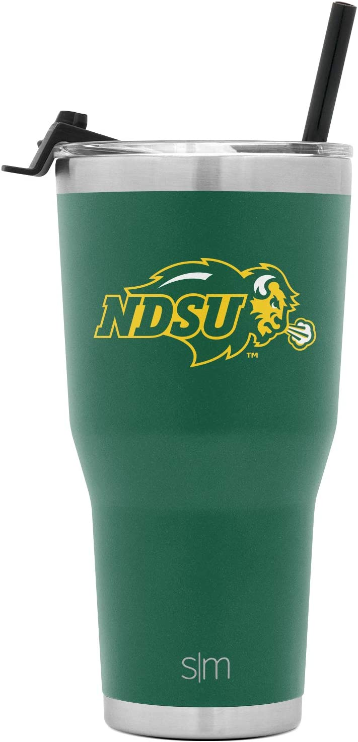 Simple Modern NCAA 30oz Tumbler with Flip Lid and Straw Insulated Stainless Steel Travel Mug Cruiser