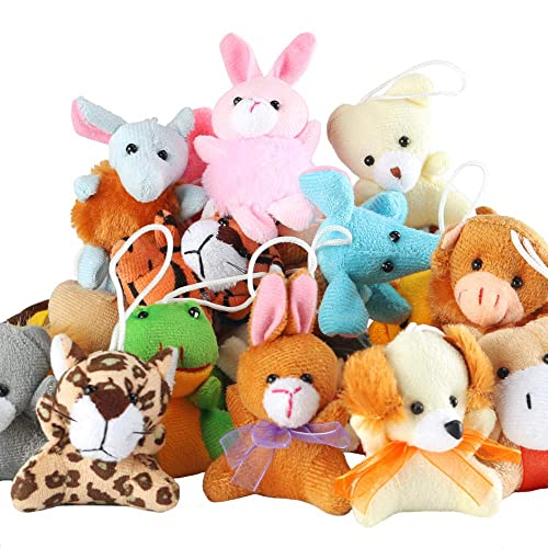 Super Soft Stuffed Animals For Babies, 32 Pack Mini Animal Plush Toy Party Favors Small Plush Animals Keychain Decoration For Birthday Party Theme Party Carnival Valentine S Day Chrismas Classroom Prize Goodies Bags For Girls Boys In Kenya Whizz Plush Figures
