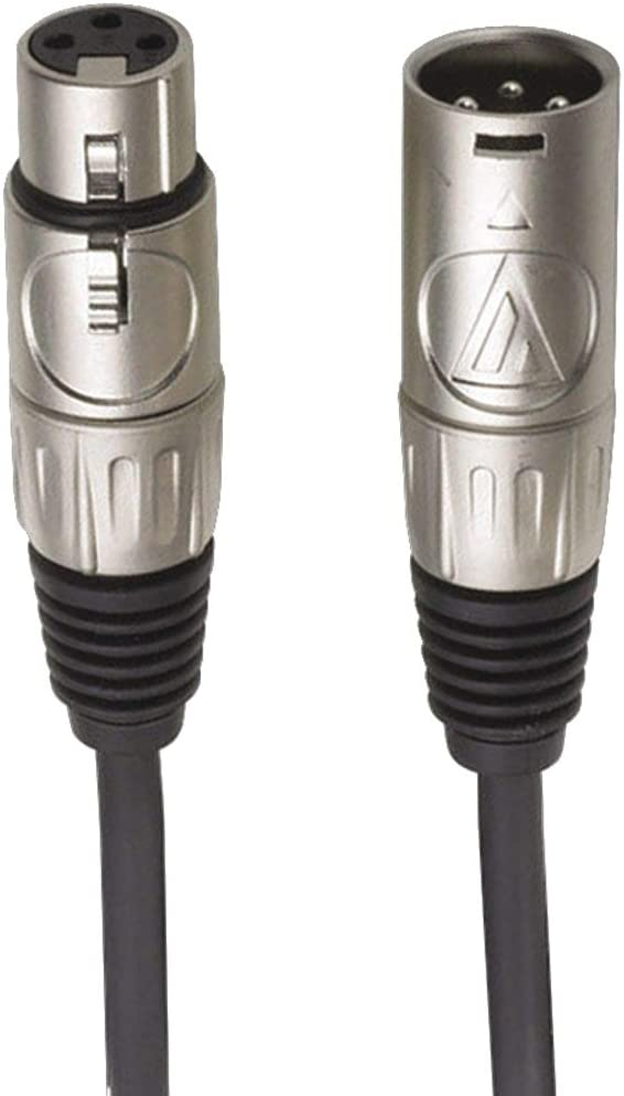 3m 10/' 10ft XLR Cable Audio-Technica AT8314-10 Premium Microphone Cable