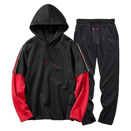 Sudaderas para Hombre,STRIR Pantalones de los Hombres de otoño Invierno Bolsillo Superior Pantalones Conjuntos