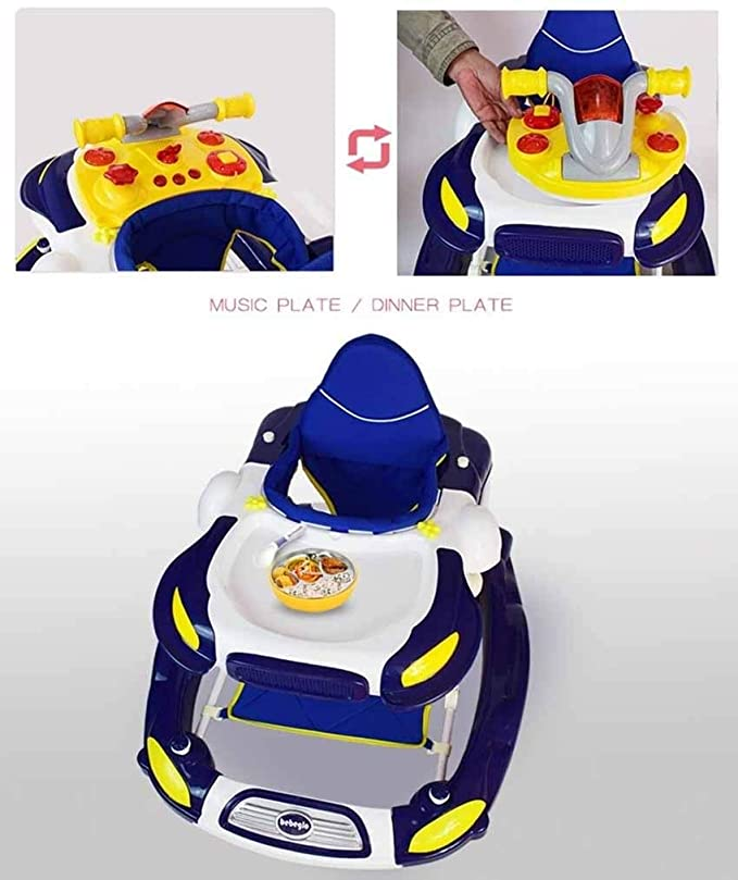 Yangs Carro de bebé Multifuncional, 6 / 7-18 Meses Ligero Plegable ...