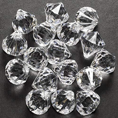 60 Small Clear Crystal Like Drop Ornaments Diamond - Crystal Christmas Tree Ornaments