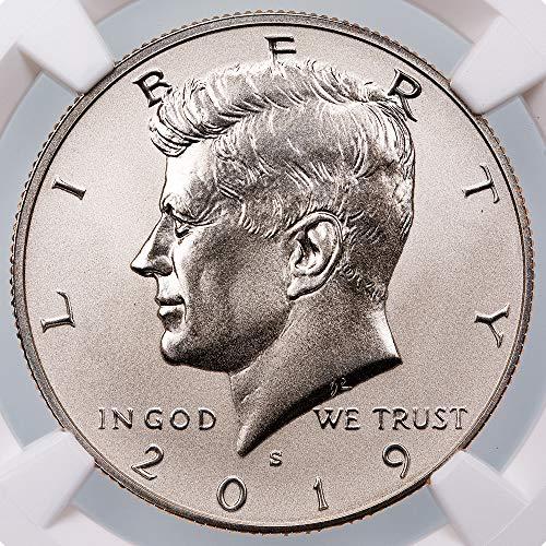 2019 S Kennedy Half Dollar PF70 NGC (Dollar Half Proof Kennedy)