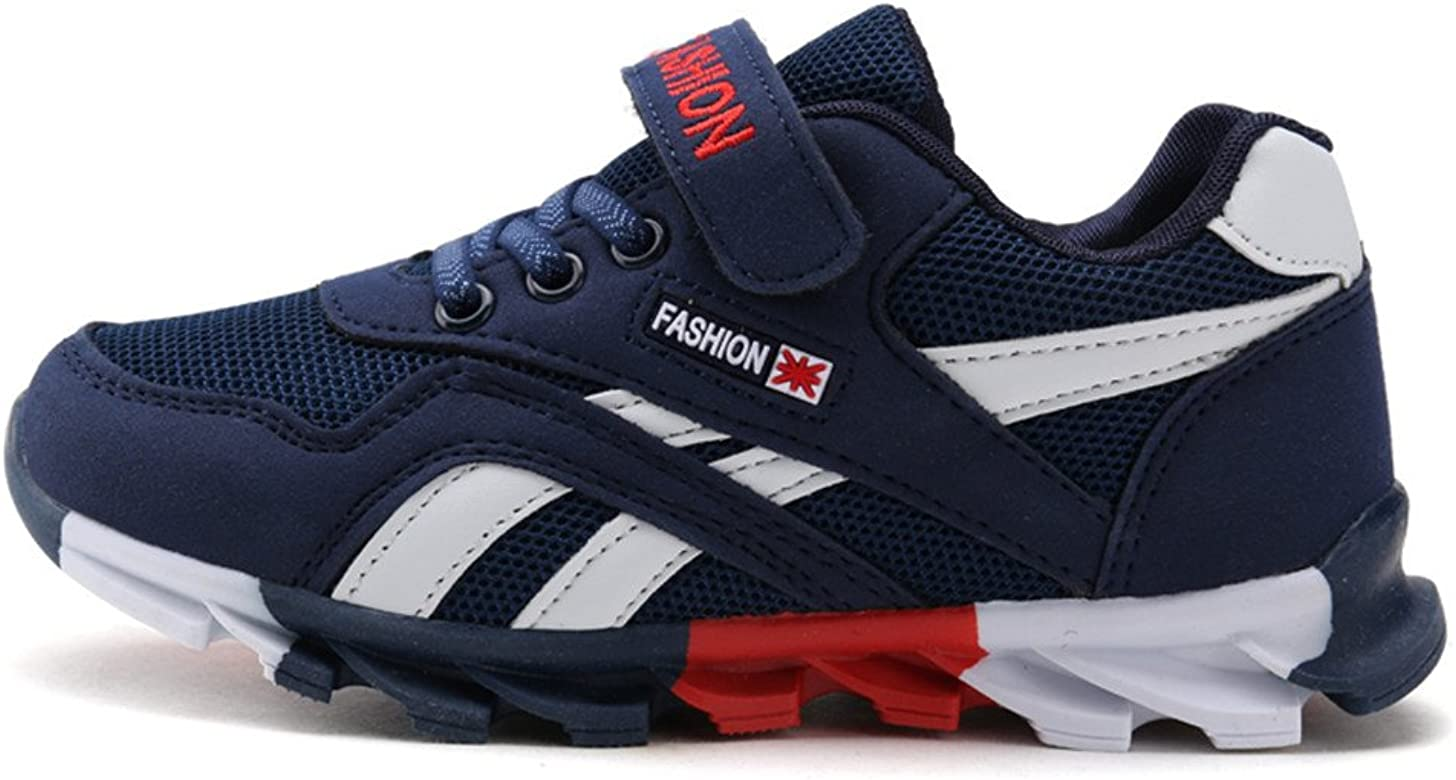 DUORO Zapatillas de para niño Running Zapatos para Correr Niños Niñas Zapatilla de Deporte de Moda, Color Azul Oscuro, Talla 26 EU: Amazon.es: Zapatos y complementos